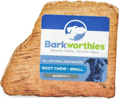 Barkworthies Small Root Dog Chew, 1 count
