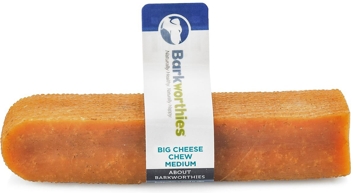 Barkworthies Medium Big Cheese Treats Dog Treats