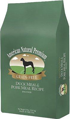 American Natural Premium Grain-Free Duck Meal & Pork Meal Recipe Dry Dog Food, 12-lb bag
