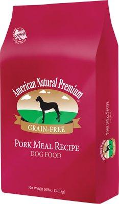 American Natural Premium Grain-Free Pork Meal Recipe Dry Dog Food, 4-lb bag