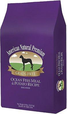 American Natural Premium Grain-Free Ocean Fish Meal & Potato Recipe Dry Dog Food, 12-lb bag