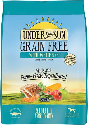 Under the Sun Grain-Free Adult Whitefish Recipe Dry Dog Food