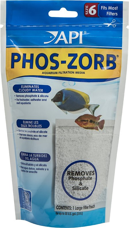 API Phos-Zorb Aquarium Canister Filter Filtration Pouch, 1-pack, Size 6