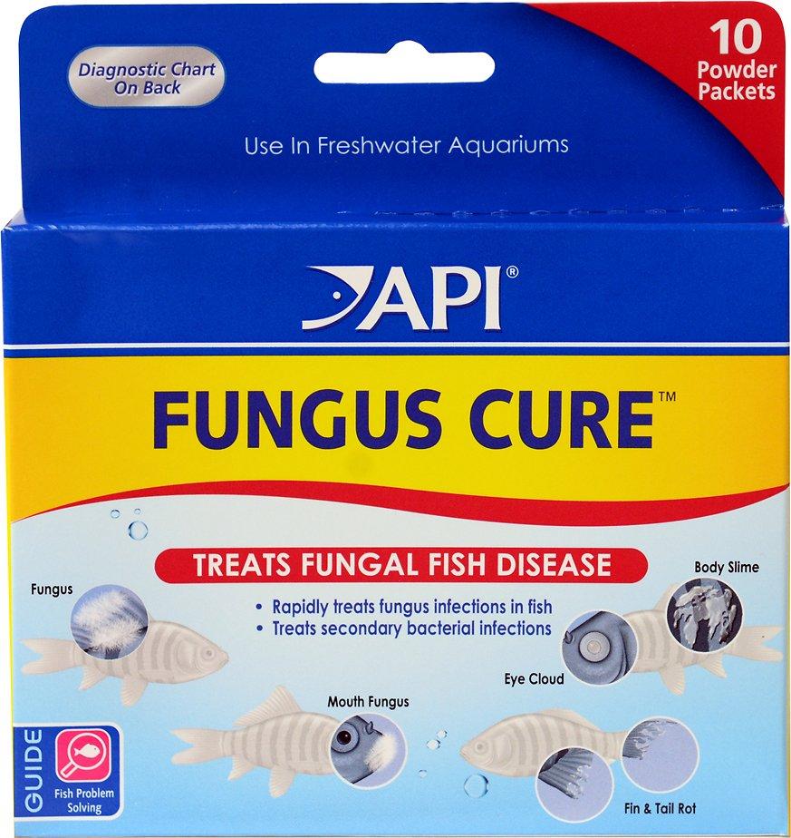 API Fungus Cure Anti-Fungal Freshwater Fish Medication, 10 count