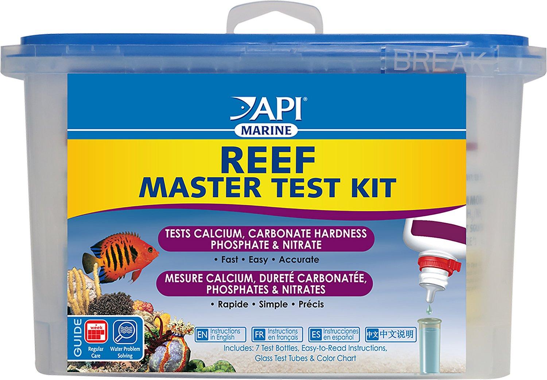API Reef Aquarium Master Test Kit, 1 count