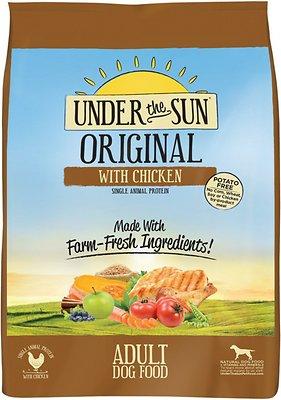 Under the Sun Original Adult Chicken Recipe Dry Dog Food