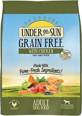 Under the Sun Grain-Free Chicken Recipe Adult Dry Dog Food