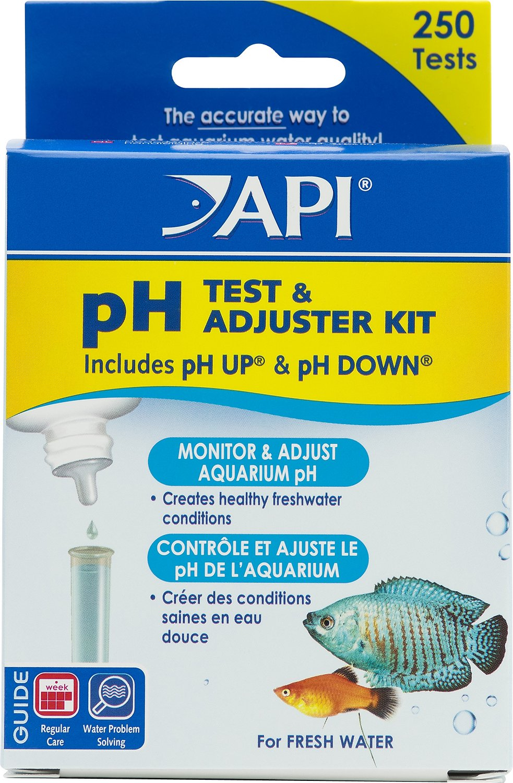 API pH Freshwater Aquarium Test & Adjuster Kit, 250 count