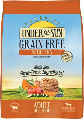 Under the Sun Grain-Free Lamb Recipe Adult Dry Dog Food