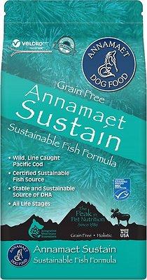 Annamaet Grain-Free Sustain Fish Formula Dry Dog Food
