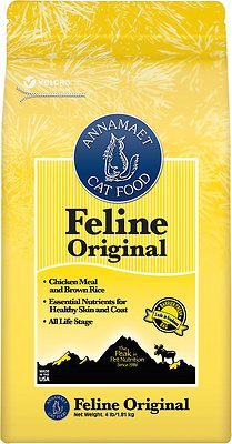 Annamaet Chicken Meal & Brown Rice Original Formula Dry Cat Food