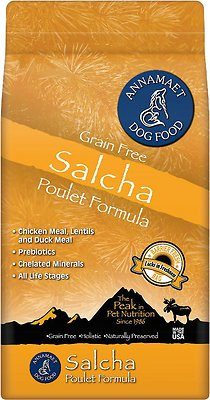 Annamaet Grain-Free Salcha Poulet Formula Dry Dog Food
