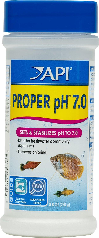 API Proper pH 7.0 Aquarium Water Treatment, 8.8-oz bottle