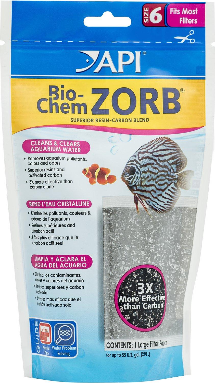 API Bio-Chem Zorb Aquarium Canister Filtration Pouch, Size 6, 1 count