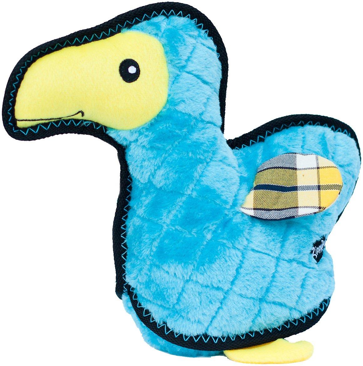 ZippyPaws Z-Stitch Grunterz Dodo the Dodo Bird Dog Toy
