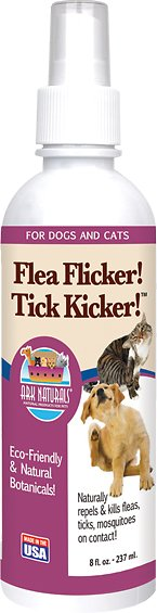 Ark Naturals Flea Flicker! Tick Kicker! Dog & Cat Spray, 8-oz bottle