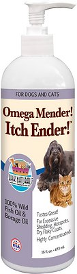 Ark Naturals Royal Coat Express Omega Mender! Itch Ender! Dog & Cat Liquid Supplement