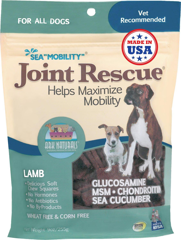 """Ark Naturals Sea """"Mobility"""" Joint Rescue Lamb Jerky Dog Treats, 9-oz bag"""