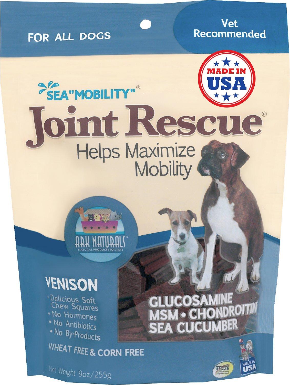 "Ark Naturals Sea ""Mobility"" Joint Rescue Venison Jerky Dog Treats, 9-oz bag"
