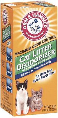 Arm & Hammer Litter Cat Litter Deodorizer Powder, 20-oz box
