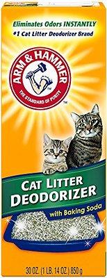 Arm & Hammer Litter Cat Litter Deodorizer Powder, 30-oz box