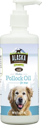 Alaska Naturals Wild Alaskan Pollock Oil Natural Dog Supplement