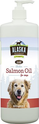 Alaska Naturals Wild Alaskan Salmon Oil Natural Dog Supplement