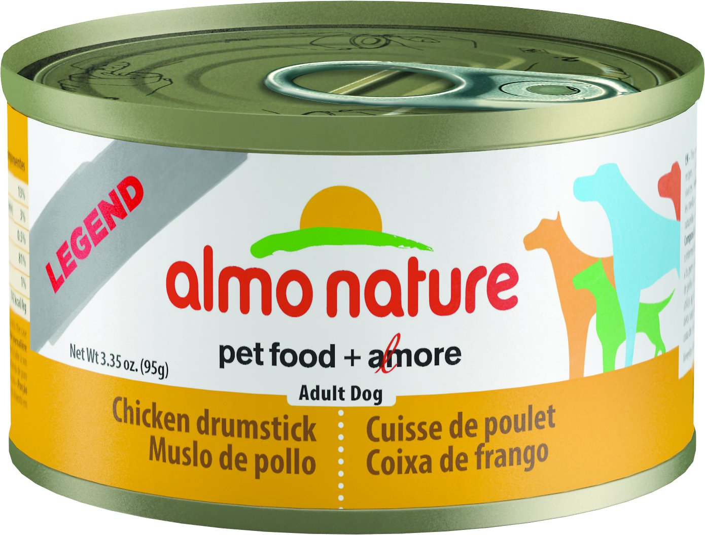 Almo Nature Legend Chicken Drumstick Adult Grain-Free Canned Dog Food