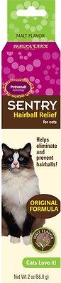 Sentry HC Petromalt Hairball Relief Original Formula Malt Flavor Cat Treatment