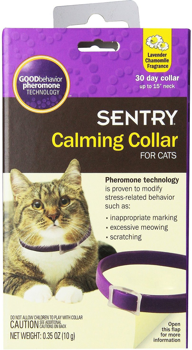Sentry HC Good Behavior Pheromone Cat Calming Collar