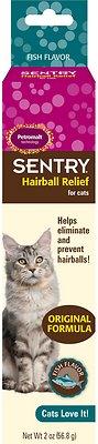 Sentry HC Petromalt Hairball Relief Original Formula Fish Flavor Cat Treatment