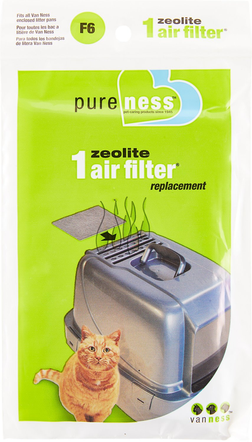 Van Ness Zeolite Air Filter