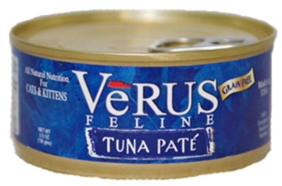 VeRUS Grain Free Tuna Pate Formula Canned Cat Food, 5.5-oz
