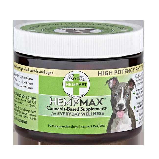 Reilly's H-Vet Max High Potency Multi-Vitamin Nutritional Dog Chews, 3.21-oz