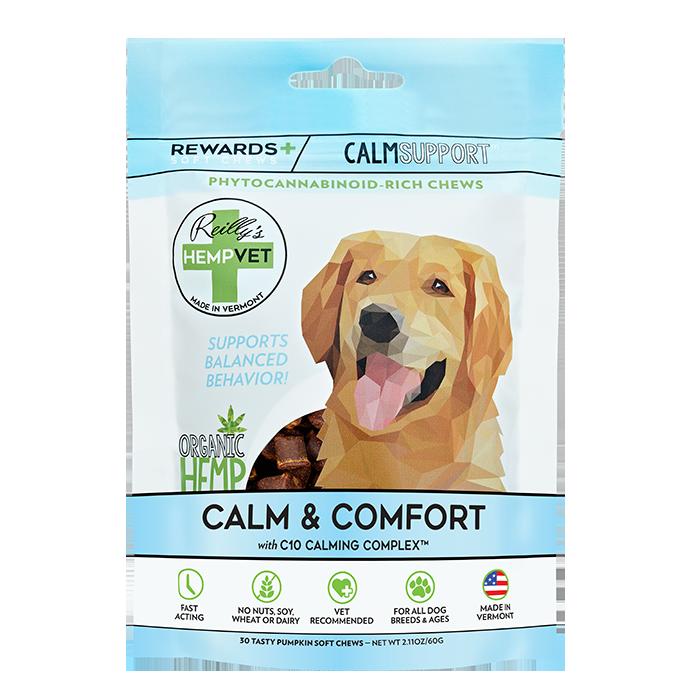 H-Vet Rewards+ Functional Calm & Comfort Dog Chews, 2.11-oz
