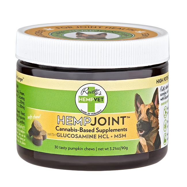 Reilly's H-Vet Joint High Potency Joint Health Nutritional Dog Chews, 3.75-oz