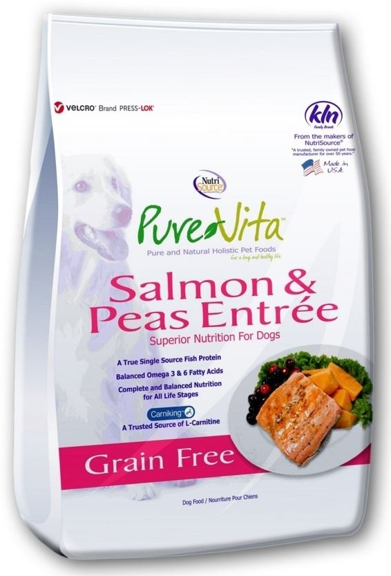 PureVita Grain Free Salmon Formula Dry Dog Food Image