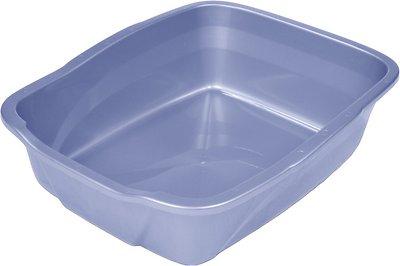 Van Ness Cat Litter Pan, Blue, Large