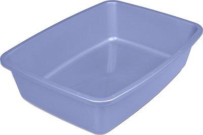 Van Ness Cat Litter Pan, Blue, Medium