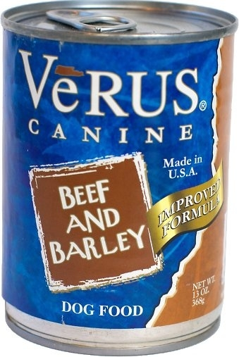 VeRUS Beef and Barley Formula Canned Dog Food, 13-oz
