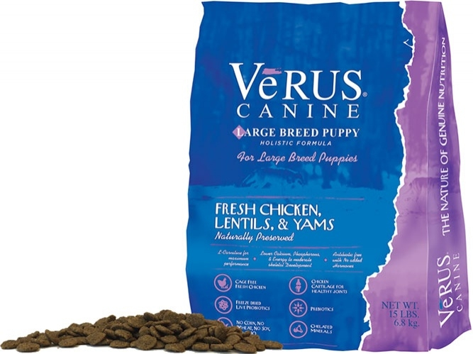 VeRUS Large Breed Puppy Formula Dry Dog Food Image