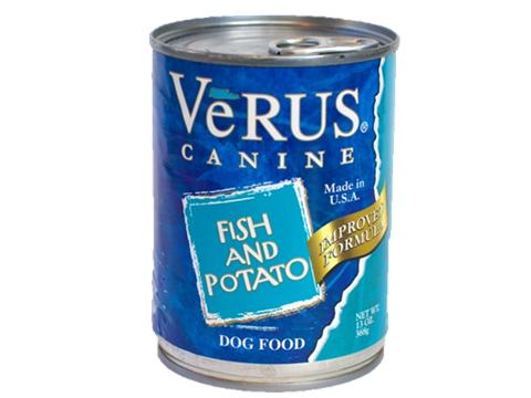 VeRUS Fish and Potato Formula Canned Dog Food, 13-oz