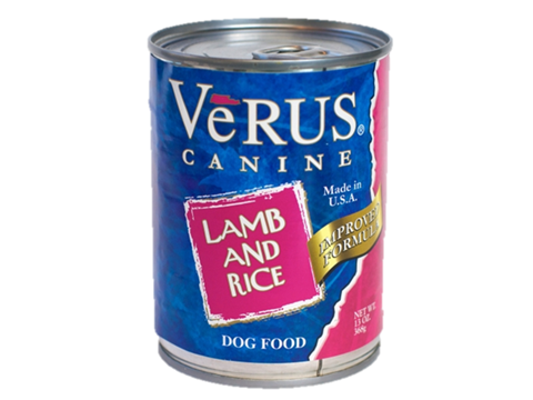 VeRUS Lamb and Brown Rice Formula Canned Dog Food, 13-oz