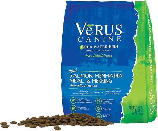 VeRUS Cold Water Fish Formula Dry Dog Food, 5-lb