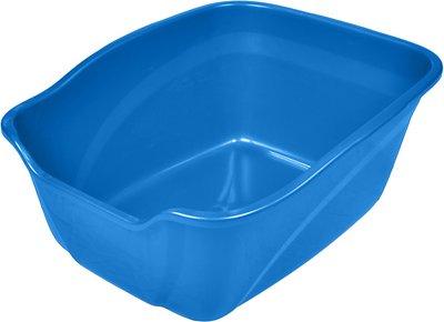 Van Ness High Sides Cat Litter Pan, Blue, Giant