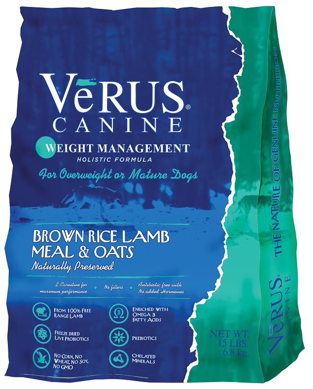 VeRUS Weight Management Formula Dry Dog Food Image