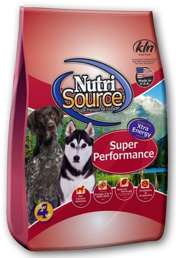 NutriSource Super Performance Chicken and Rice Dry Dog Food