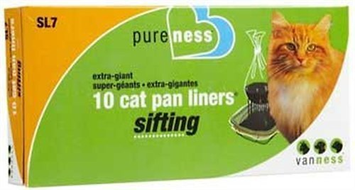 Van Ness Sifting Cat Pan Liners, X-Giant, 10-count