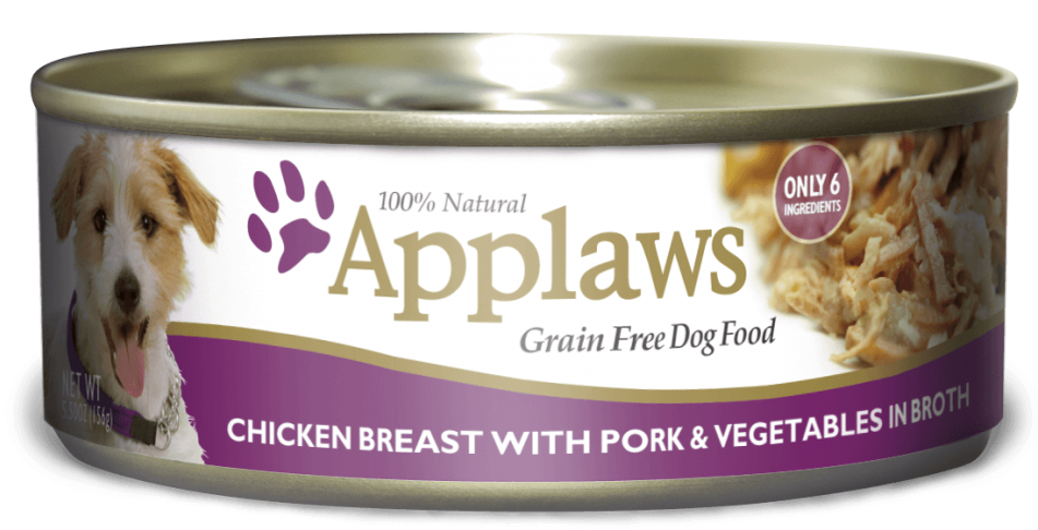Applaws Grain Free Chicken Breast with Pork and Vegetables Canned Dog Food Image