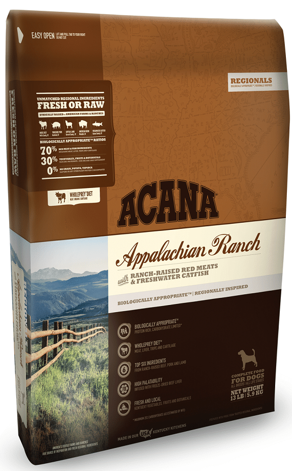 ACANA Regionals Appalachian Ranch Grain Free Dry Dog Food Image